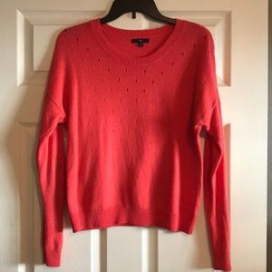 Coral Gap sweater with cutouts